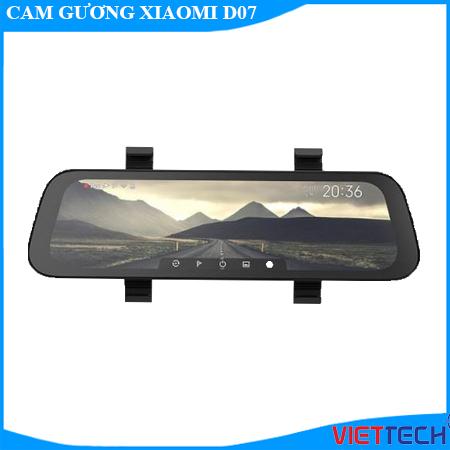 xiaomi d07, camera hành trình gương, camera hành trình gương xiaomi d07, camera hành trình siêu nét